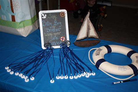 Baby Gardner Nautical Baby Shower