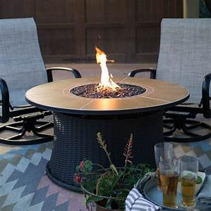 red, ember, meridian, 43, in, , round, propane, fire, pit, -, walmart, com