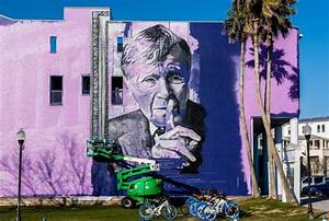 Seaside Pays Tribute to Vincent Scully with Massive Mural ...