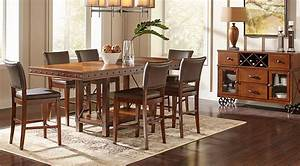 Red Hook Pecan 5 Pc Counter Height Dining Room - Dining