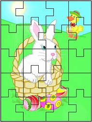 Printable Easter Jigsaw Puzzles For Kids