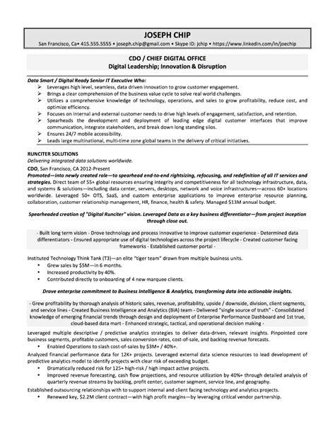 Chip Resume sles quantum tech resumes