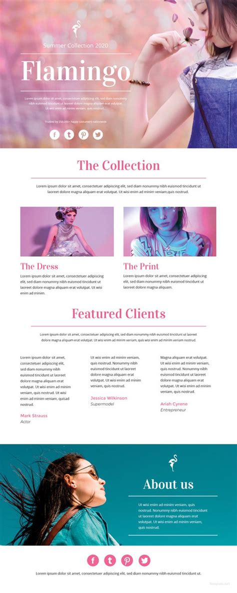 newsletter template  psd ai word