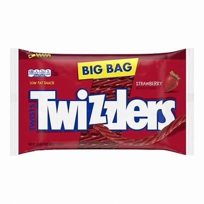 Twizzlers Candy Licorice Strawberry Twists Bag Zipper