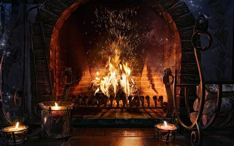 Fireplace Wallpapers by Fireplace Hd Wallpapers