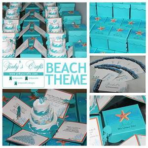 how to make your own creative beach under the sea With pop up beach wedding invitations