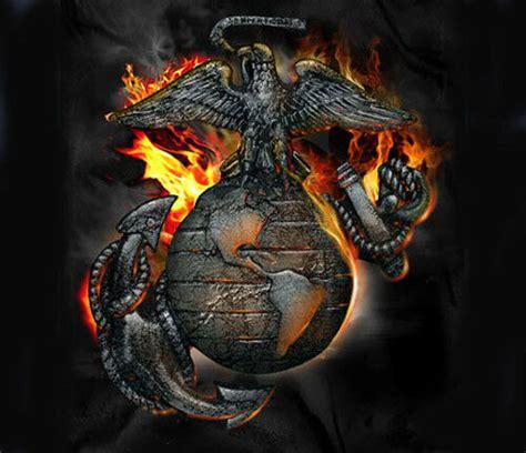 marine corps eagle  globe flames usmc black adult