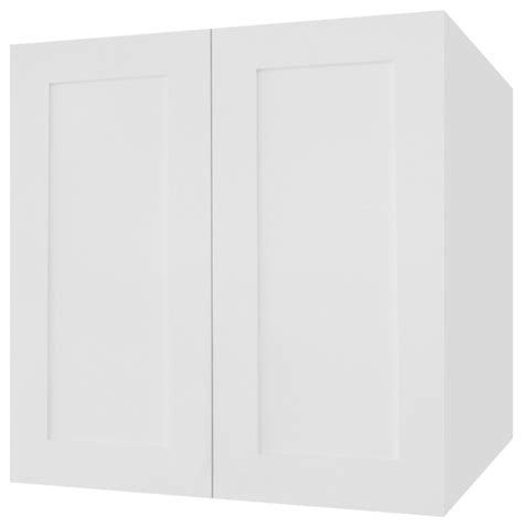 white shaker wall cabinets ice white shaker kitchen wall cabinet contemporary