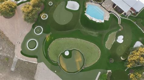 Backyard Golf Drills by Dave Pelz On Tips To Install A Great Backyard