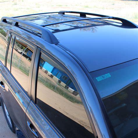toyota landcruiser  series  profile roof rack rail