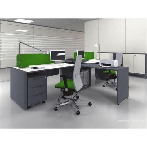 configuration bureau bureau opératif droit logic noir et blanc configuration