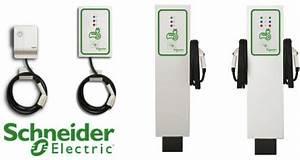 Prise Recharge Voiture Électrique : schneider electric bornes de recharge pour voitures lectriques ~ Dode.kayakingforconservation.com Idées de Décoration