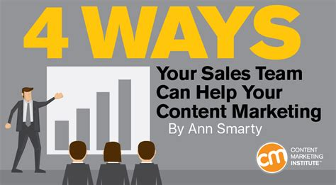 marketing help 4 ways your sales team can help your content marketing