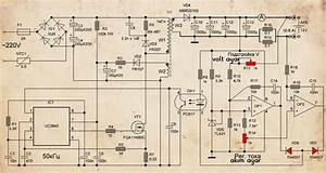 Battery Charger Flyback Smps Modifiyesi Schematic Circuit