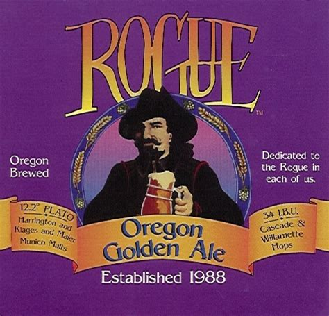 rogue ale brewery oregon golden american lager beer imperial