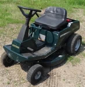 Craftsman 30 Inch Riding Lawn Mower