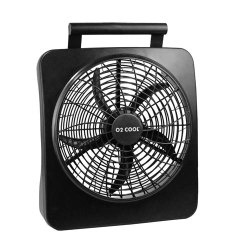o2cool 10 portable fan o2cool 10 in portable fan 1071 the home depot