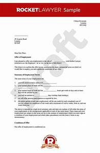 Offer of Employment Letter  Create a Job Offer Letter Online
