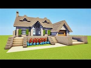 Video De Minecraft Maison : super maison sur minecraft tuto minecraft youtube ~ Zukunftsfamilie.com Idées de Décoration