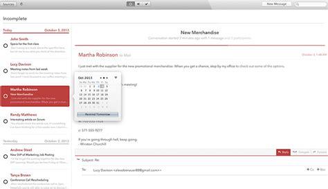 mail client  mac os  find