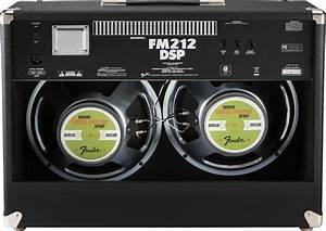 Fender Fm212dsp Guitar Combo Amplifier  100 Watts  2x12 In
