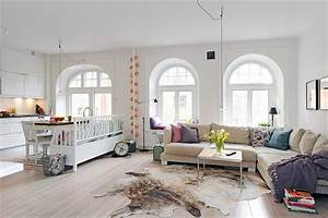 Wohnzimmer Scandi Style : 30 scandinavian living room designs with a mesmerizing effect ~ Frokenaadalensverden.com Haus und Dekorationen