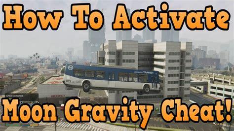 gta  moon gravity cheat tutorial    flying