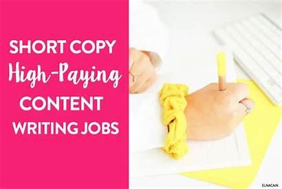 Writing Jobs Paying Pay Copy Short Becoming