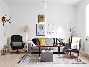 Salon Design Scandinave : les plus belles photos d int rieurs scandinaves visitedeco ~ Preciouscoupons.com Idées de Décoration