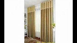 Rideaux Pour Salon Moderne : rideaux de salon moderne youtube ~ Teatrodelosmanantiales.com Idées de Décoration