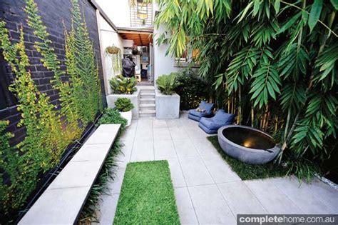 small courtyard designs real backyard inner city courtyard garden design completehome