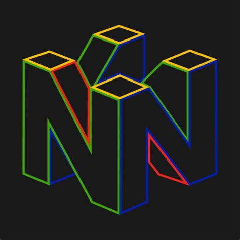 nintendo 64 colors nintendo 64 logo color nintendo t shirt teepublic