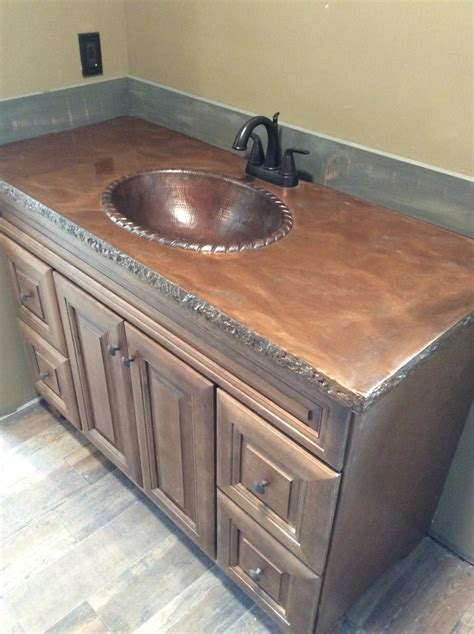 Countertops   Custom Concrete Countertops   Northern Michigan