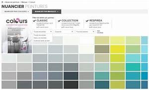 Nuancier Peinture Castorama : le nuancier interactif ~ Melissatoandfro.com Idées de Décoration