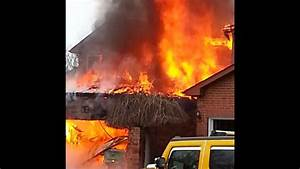 Brampton House Fire - Home Engulfed In Flames