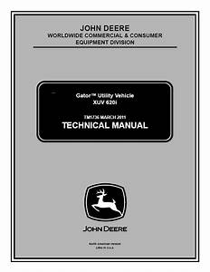 John Deere Xuv 620i Gator Utility Vehicle Tm1736 Pdf