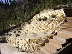 Construire Un Mur En Pierre : cr ation de murs en pierres s ches arcachon en gironde ~ Melissatoandfro.com Idées de Décoration
