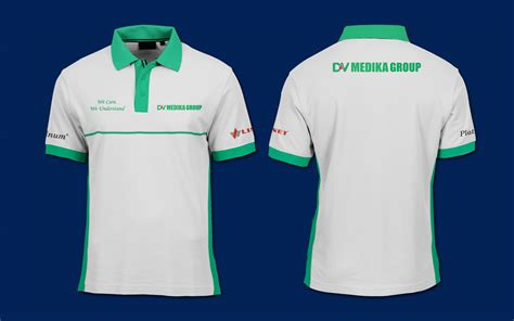 sribu desain baju dinas baju produk polo shirt dv medik
