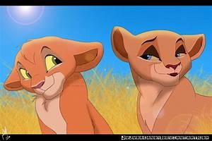 Kovu and Kiara's Cubs by jujubacandy on DeviantArt