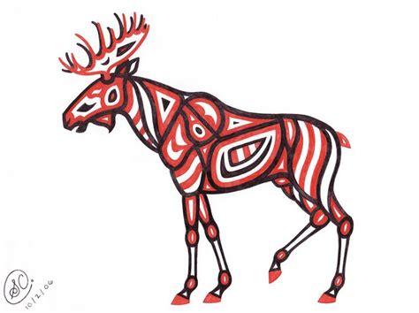 native american moose  sarachristensen  deviantart