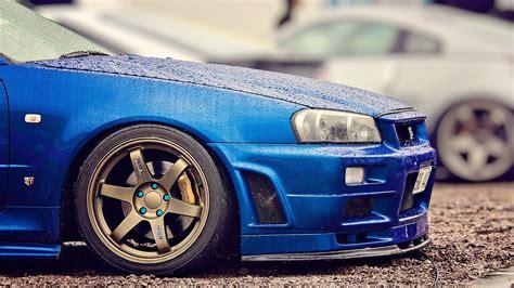 Nissan skyline gtr r34 wallpaper. Blue Skyline GT-R R34 1920 x 1080 Need #iPhone #6S #Plus #Wallpaper/ #Background for # ...