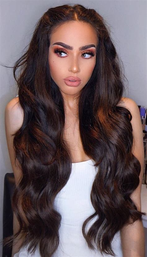 beautiful prom hairstyles  long hair part
