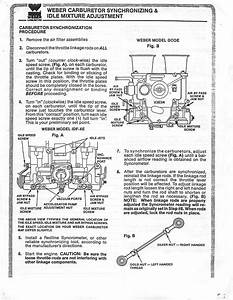 Thesamba Com    Weber 34 Idf Carburetor Installation