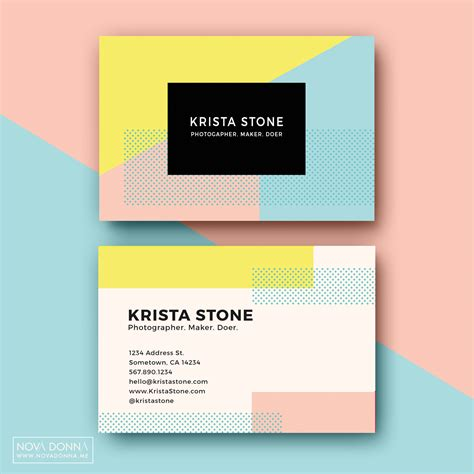 business cards  fun  playful personal brands shiftfwd