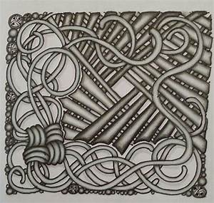 zentangle tile tangle patterns used mak rah mee lap With zentangle tile template