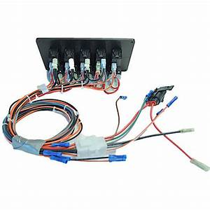 Consoles   Small Pontoon Boat Switch Panel