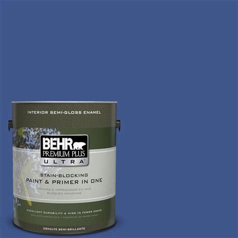 behr premium plus ultra 1 gal ppu15 3 cobalt blue
