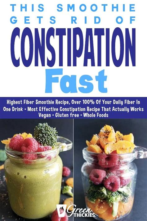 But when it comes to fiber, some fruits have more than others. Healthy High Fiber Smoothie Recipes For Constipation - The ...