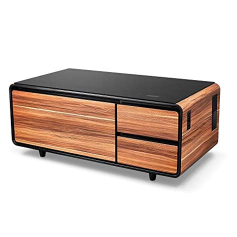 Huge dent on the side, speaker screen came out to original position because of dent. Sobro Smart Coffee Table - Now This Is A Coffee Table I Can Get Behind