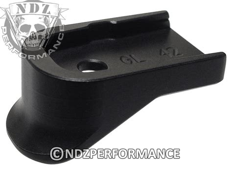 for glock 42 g42 floor base plate extended grip plain ebay